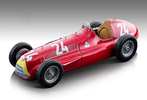Alfa Romeo Alfetta 159M #24 Juan Manuel Fangio Winner Formula One Swiss Grand Prix 1951 Mythos Series Limited Edition 425 pieces Worldwide 1/18 Model Car Tecnomodel TM18-147 C