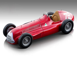 Alfa Romeo Alfetta 159M #78 Paul Pietsch Formula One German Grand Prix 1951 Mythos Series Limited Edition 75 pieces Worldwide 1/18 Model Car Tecnomodel TM18-147 D