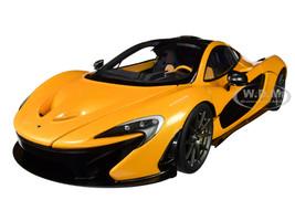 McLaren P1 Papaya Spark Orange Carbon Fiber 1/18 Model Car Autoart 76063