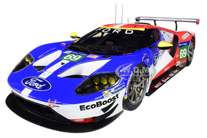 Ford GT #69 Ryan Briscoe Richard Westbrook Scott Dixon Ford Chip Ganassi Team USA 24H Le Mans 2016 1/18 Model Car Autoart 81612