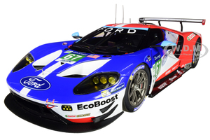 Ford GT #67 Harry Tincknell Andy Priaulx Pipo Derani Ford Chip Ganassi Team UK 24H Le Mans 2017 1/18 Model Car Autoart 81710