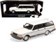 1986 Volvo 240 GL Break White Limited Edition 504 pieces Worldwide 1/18 Diecast Model Car Minichamps 155171412
