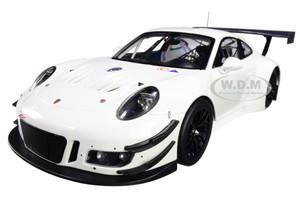 2018 Porsche 911 GT3 R White Limited Edition 300 pieces Worldwide 1/18 Diecast Model Car Minichamps 155186900