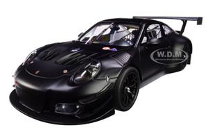 2018 Porsche 911 GT3 R Matt Black Limited Edition 300 pieces Worldwide 1/18 Diecast Model Car Minichamps 155186901