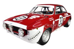 Alfa Romeo GTA 1300 Junior #33 Hezemanns Van Lennep Winners Division 1 4H Jarama 1972 Limited Edition 300 pieces Worldwide 1/18 Diecast Model Car Minichamps 155721233