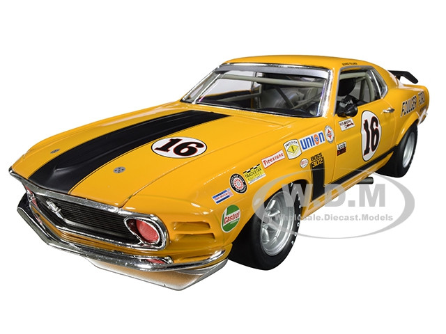 1970 Ford Boss 302 Mustang #16 Foulger Ford Limited Edition 450 pieces Worldwide 1/18 Diecast Model Car ACME A1801835