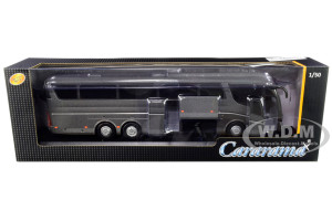Scania Irizar Pb Bus Dark Gray Metallic 1/50 Diecast Model Cararama 57702 G