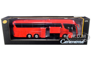 Scania Irizar Pb Bus Red 1/50 Diecast Model Cararama 57702 R