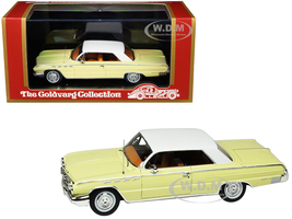 1962 Buick Electra 225 Cameo Cream White Top Limited Edition 210 pieces Worldwide 1/43 Model Car Goldvarg Collection GC-013 A