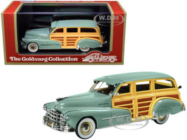1948 Pontiac Streamlined Woodie Genesee Green Limited Edition 270 pieces Worldwide 1/43 Model Car Goldvarg Collection GC-034 A