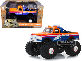 1972 Chevrolet K-10 Monster Truck 66-Inch Tires AM/PM Boss 1/43 Diecast Model Car Greenlight 88021