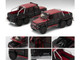 Mercedes Benz G63 AMG 6x6 Pickup Truck Red Black 1st Special Edition 1/64 Diecast Model Car Era Car MB196X6RF06