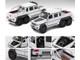 Mercedes Benz G63 AMG 6x6 Pickup Truck Spotlight White 1st Special Edition 1/64 Diecast Model Car Era Car MB196X6RF07