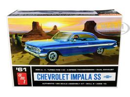 Skill 2 Model Kit 1961 Chevrolet Impala SS 1/25 Scale Model AMT AMT1013