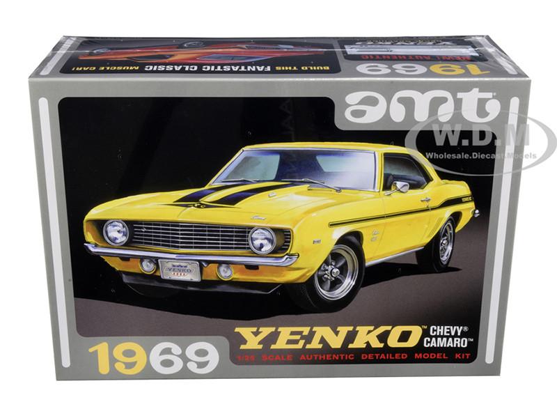Skill 2 Model Kit 1969 Chevrolet Camaro Yenko 1/25 Scale Model AMT AMT1093