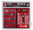 56 Piece Deluxe Hobby Knife Set Skill 3 for Model Kits AMT SCM047