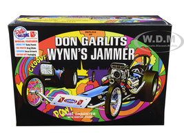 Skill 2 Model Kit Don Garlits Wynn's Jammer Dragster Display Stand 1/25 Scale Model AMT AMT1163