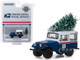 1972 Jeep DJ-5 USPS United States Postal Service Christmas Tree Accessory Hobby Exclusive 1/64 Diecast Model Car Greenlight 30118