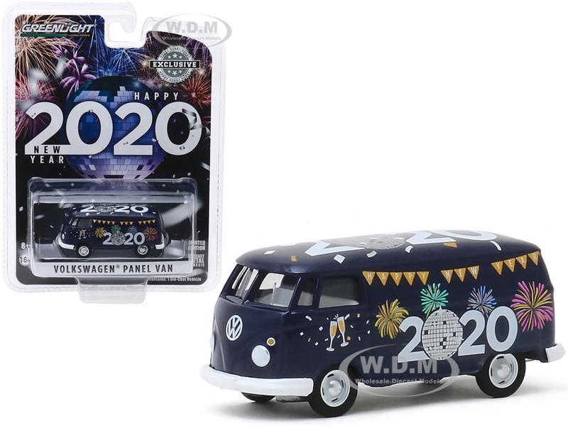Volkswagen Panel Van New Year 2020 Hobby Exclusive 1/64 Diecast Model Greenlight 30125