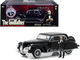1941 Lincoln Continental Black Don Corleone Figurine The Godfather 1972 Movie 1/43 Diecast Model Car Greenlight 86552