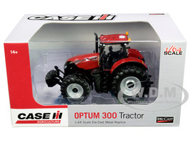 Case IH Optum 300 Tractor Red 1/64 Diecast Model SpecCast ZJD1772