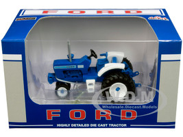 Ford 9000 Narrow Front Tractor Blue 1/64 Diecast Model SpecCast ZJD1833