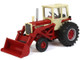 IH Farmall 1256 Cab Tractor with Loader 1/64 Diecast Model SpecCast ZJD1881