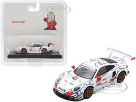 Porsche 911 RSR #911 Pilet Tandy Makowiecki Porsche GT Team Winner GTLM Class Petit Le Mans 2018 1/64 Diecast Model Car Sparky Y135B