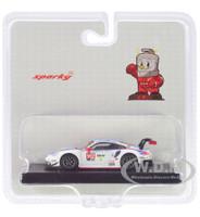 Porsche 911 RSR #912 Bamber Vanthoor Jaminet Porsche GT Team 24H Daytona 2019 1/64 Model Car Sparky Y136B