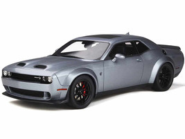 Dodge Challenger SRT Hellcat Redeye Blue-Gray Pearl 1/18 Model Car GT Spirit GT226