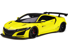 Honda NSX Custom LB Works Yellow Black Top Limited Edition 500 pieces Worldwide 1/18 Model Car GT Spirit Kyosho KJ034