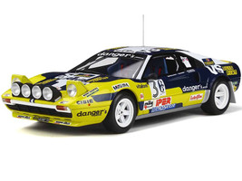 Ferrari 308 GTB Group 4 #3 Mauro Pregliasco Italian Rally 4 Regioni Race 1981 Limited Edition 1500 pieces Worldwide 1/18 Model Car Otto Mobile OT567