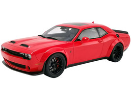 2019 Dodge Challenger SRT Hellcat Redeye Widebody TorRed USA Exclusive Series 1/18 Model Car GT Spirit ACME US019