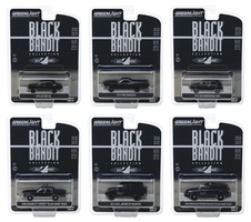 Black Bandit Series 22 6 piece Set 1/64 Diecast Model Cars Greenlight 28010