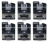 Black Bandit Series 22 6 piece Set 1/64 Diecast Model Cars Greenlight 28010