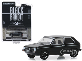1976 Volkswagen Golf Mk1 Black Bandit Series 22 1/64 Diecast Model Car Greenlight 28010 C