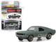 1968 Ford Mustang GT Fastback Green Unrestored Bullitt Kissimmee Florida 2020 Mecum Auctions Collector Cars 1/64 Diecast Model Car Greenlight 30136