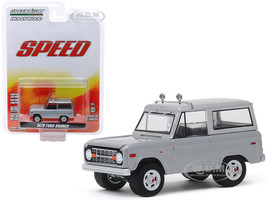 1970 Ford Bronco Gray Jack Traven's Speed 1994 Movie Hollywood Series Release 26 1/64 Diecast Model Car Greenlight 44860 E