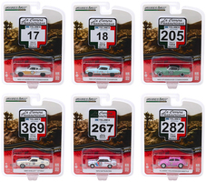 La Carrera Panamericana Series 2 Set 6 pieces 1/64 Diecast Model Cars Greenlight 13260
