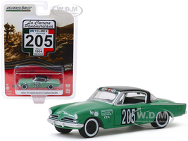 1953 Studebaker Commander #205 Mexico Rally Mexico 1954 La Carrera Panamericana Series 2 1/64 Diecast Model Car Greenlight 13260 C