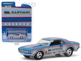 1967 Chevrolet Camaro Bill Hielscher's Mr Bardahl Hobby Exclusive 1/64 Diecast Model Car Greenlight 30095