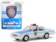 1989 Chevrolet Caprice White New York City Transit Police Department Hobby Exclusive 1/64 Diecast Model Car Greenlight 30100