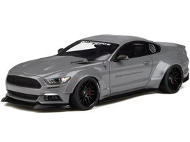 Ford Mustang Coupe LB Works Gray 1/18 Model Car GT Spirit GT264