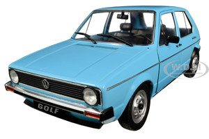 Volkswagen Golf I Miami Blue 1/18 Diecast Model Car Solido S1800208