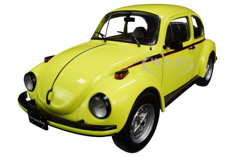 Volkswagen Beetle 1303 Sport Brilliant Gelb Yellow 1/18 Diecast Model Car Solido S1800511