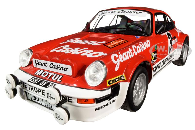 Porsche 911 SC Gr 4 #3 Bernard Beguin Rally D'Armor 1979 1/18 Diecast Model Car Solido S1800804