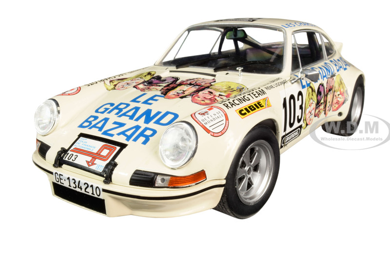 Porsche 911 RSR #103 Le Grand Bazar 1/18 Diecast Model Car Solido S1801106