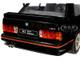 1990 BMW E30 Sport Evo Black 1/18 Diecast Model Car Solido S1801501