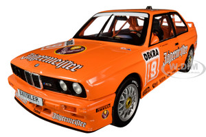 BMW E30 M3 #19 Armin Hahne Jagermaester The Deutsche Tourenwagen Meisterschaft DTM 1992 1/18 Diecast Model Car Solido S1801504