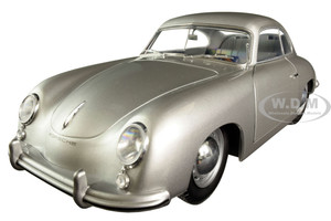 1953 Porsche 356 PRE-A Silver Metallic 1/18 Diecast Model Car Solido S1802802